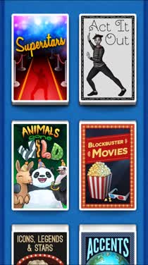 Choose a category to guess from