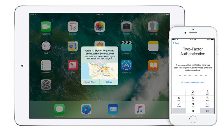 Two-factor authentication provides a great layer of security to your Apple ID and iOS devices.