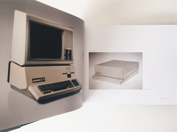 Iconic book featuring the Apple II