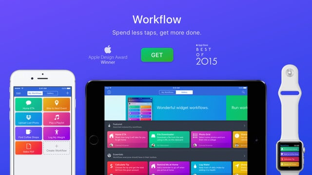 Apple Acquires Powerful iOS Automation App Workflow