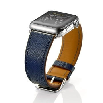 The Best Non-Apple Midnight Blue Hermès Single Tour Apple Watch Band