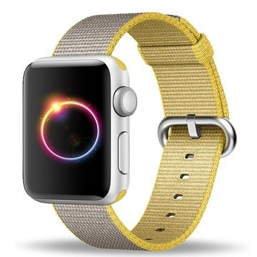 The Best Non-Apple Yellow The Best Replica Apple Watch Nylon Apple Watch Band