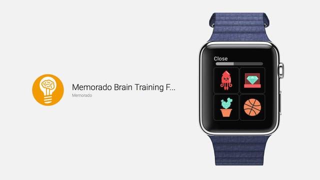 Memorado Offers Brain Training on the Apple Watch