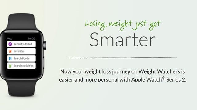 Weight Watchers Offers a Deal on an Apple Watch 2