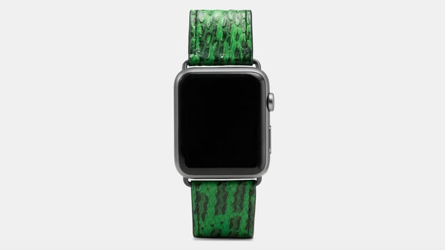 New Coach Apple Watch Bands for Spring, 30 Percent Off