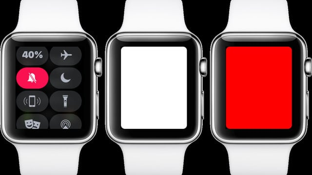 Flashlight in watchOS 4 has 3 Different Modes